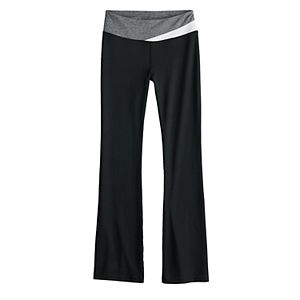 Girls 7-16 SO® Colorblock Bootcut Pull-On Pants