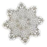 St. Nicholas Square® Beaded Snowflake Placemat