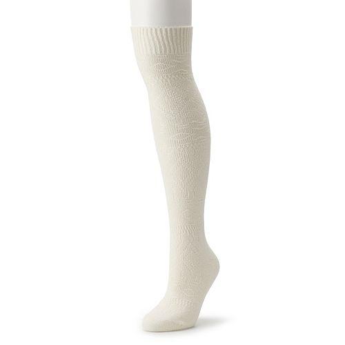 Women's SONOMA Goods for Life™ Textured Knee High Socks