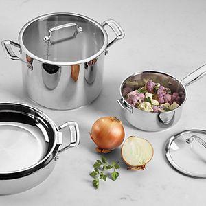 Cuisinart® SmartNest 11-pc. Stainless Steel Cookware Set
