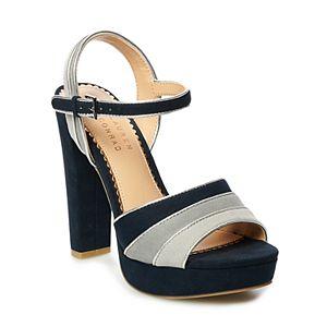 LC Lauren Conrad Americano Women's Platform Heels