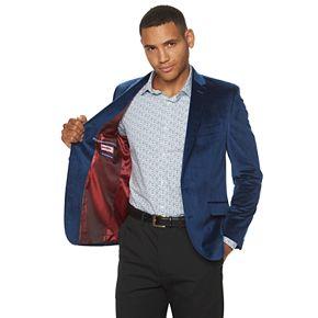 Men's Billy London Slim-Fit Velvet Sport Coat