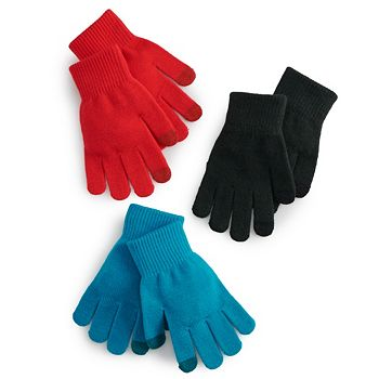 SO Solid Tech Women's Glove Set