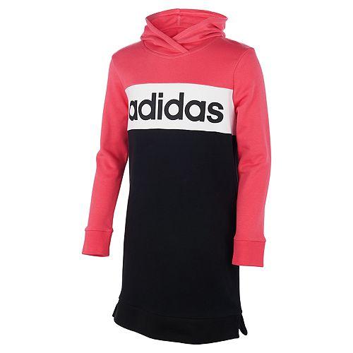 Girls 7-16 adidas Colorblock Hooded Dress