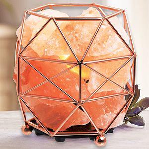 Wanderlust X Salt Crystal Lamp
