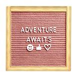 Wanderlust X Felt Letter Board