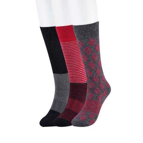 Men's Bespoke 3-pack Fashion Crew Socks