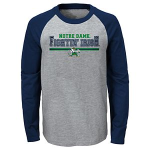 Boys 4-20 Notre Dame Fighting Irish Varsity Tee