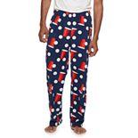 Men's Croft & Barrow® Festive Microfleece Sleep Pants