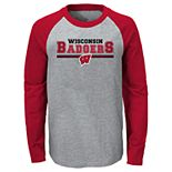 Boys 4-20 Wisconsin Badgers Varsity Tee