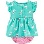 Baby Girl Carter's Dog Bodysuit Dress