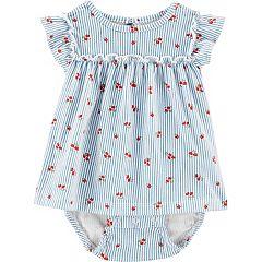 KiKibaby Baby Playwear Dresses,Summer Infant Baby Girls Dress Flower Printed Sleeveless Princess Dress