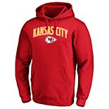 Big & Tall NFL Kansas City Chiefs Engage Arch Pullover Hoodie