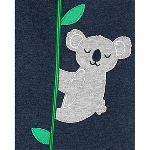 Baby Boy Carter's Fleece Koala Zip Sleep & Play
