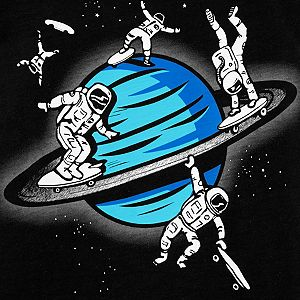Boys 4-14 Carter's Space Glow in the Dark Graphic Tee