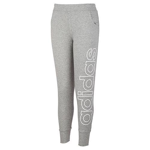 Girls 7-16 adidas Linear Logo Joggers