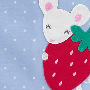 Baby Girl Carter's Strawberry Mouse Sleep & Play