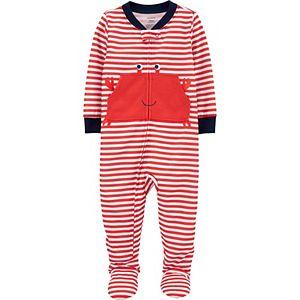 Baby Boy Carter's 1-Piece Crab Footie Pajamas