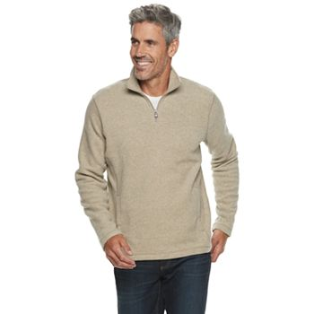 Croft & Barrow Men's Arctic Fleece Quarter-Zip Sweater (various)