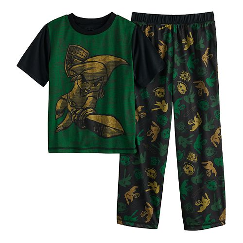 Boys 6-16 Nintendo Zelda Top & Bottoms Pajama Set