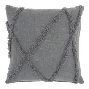 Mina Victory Distressed Geometric Throw Pillow