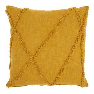 Mina Victory Distressed Geometric Throw Pillow