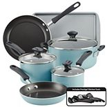 Farberware Cookstart 15-pc. DiamondMax Nonstick Cookware Set