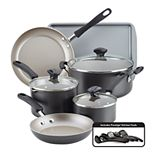 Farberware® Cookstart 15-pc. DiamondMax Nonstick Cookware Set