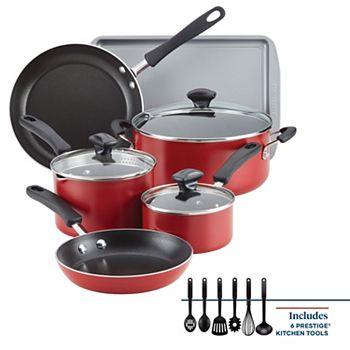 15-Piece Farberware Cookstart DiamondMax Nonstick Cookware Set