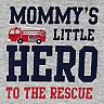 Baby Boy Carter's Firetruck Tee, Graphic Bodysuit & Striped Shorts Set