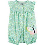 Baby Girl Carter's Butterfly Snap-Up Romper