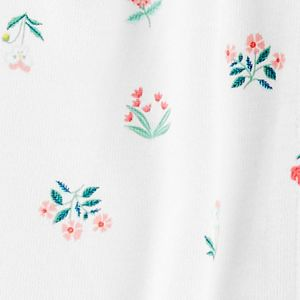 Baby Girl Carter's Floral Snap-Up Romper