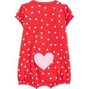 Baby Girl Carter's Heart Snap-Up Romper