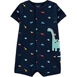 Baby Boy Carter's Dinosaur Snap-Up Romper