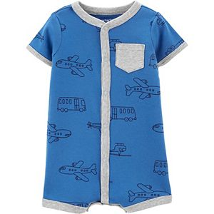 Baby Boy Carter's Vehicle Snap-Up Romper