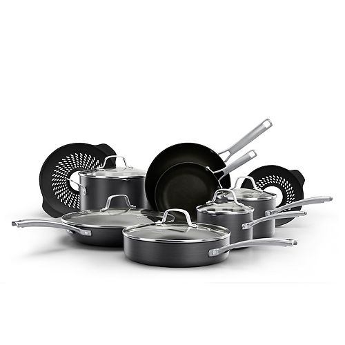Calphalon Classic 14 Pc. Nonstick Cookware Set With No Boil Over Inserts by Calphalon