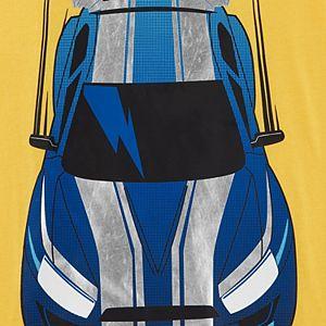 Boys 4-14 Carter's Race Car Mock Layered Graphic Tee