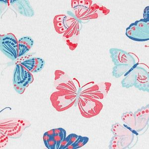 Baby Girl Carter's Butterfly Tee & Sunsuit Coverall Set