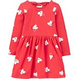 Toddler Girl Carter's Floral Bow Back Jersey Dress