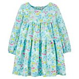 Toddler Girl Carter's Floral Tiered Dress
