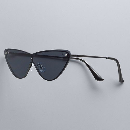 Simply Vera Vera Wang Ru Metal Cat Eye Sunglasses by Simply Vera Vera Wang