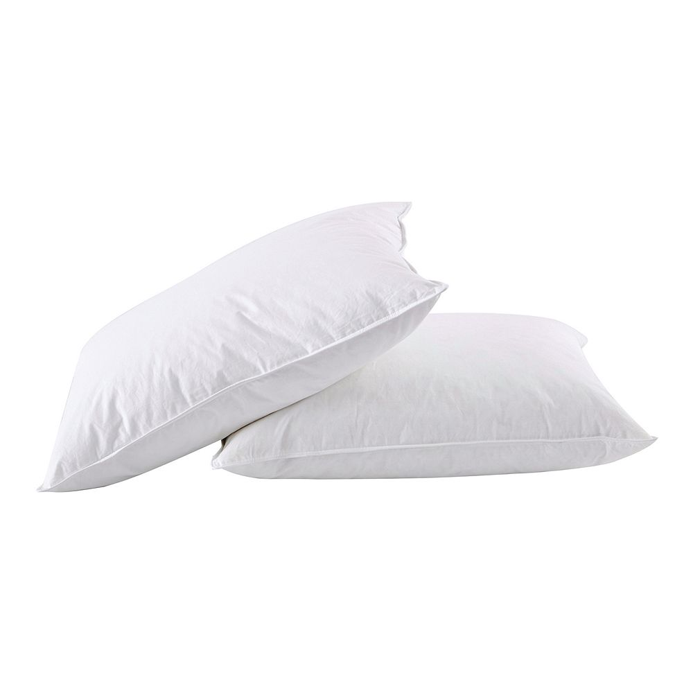 Dream On 2-pack White Goose Feather & Down Pillow
