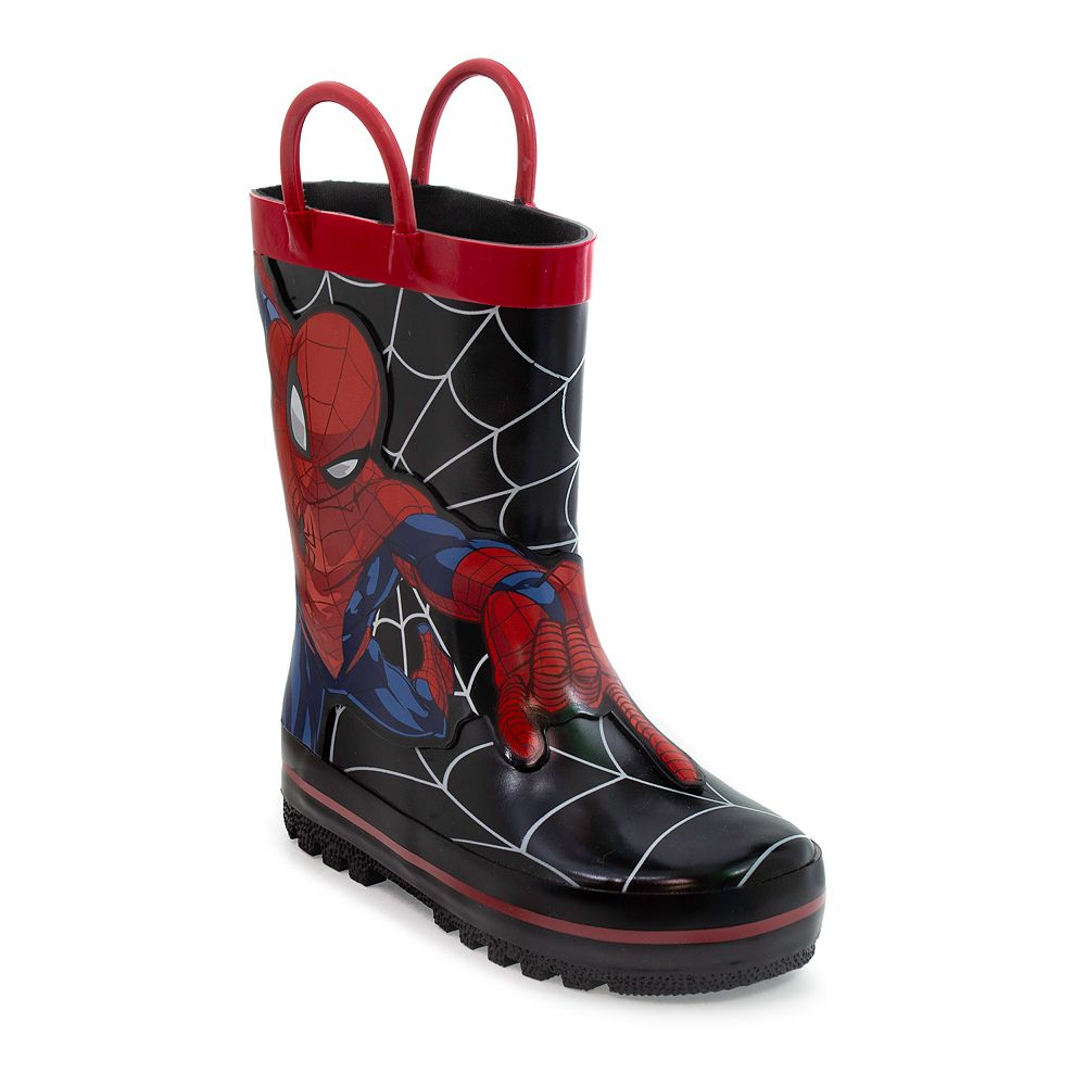 Marvel Spider-Man Toddler Boys' Rain Boots