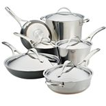 Anolon Nouvelle 11-pc. Mixed Metals Cookware Set