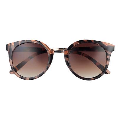 LC Lauren Conrad Bungalow 51 mm Round Sunglasses