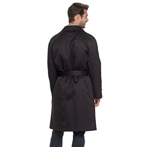Big & Tall Ike Behar Rawlins DB Traditional Trench Coat
