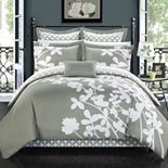 Chic Home Iris 11-pc. Comforter, Decorative Pillow & Sheet Set
