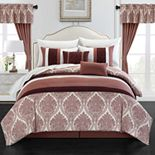 Chic Home Vivaldi 20-pc. Comforter, Window Treatment & Sheet Set