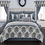 Chic Home Vivaldi 20-pc. Comforter, Window Treatment & Sheet Set
