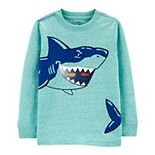 Baby Boy Carter's Shark Lenticular Printed Graphic Tee